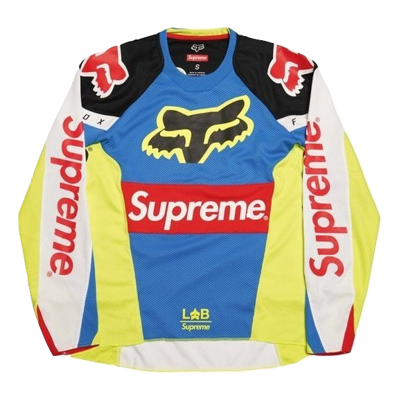 Supreme Honda Fox Racing Moto Jersey Top - Multicolor - Used