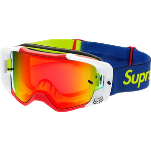 Supreme Fox Vue Racing Goggles - Multicolor