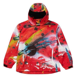 Supreme Gore-Tex Anorak - Rammellzee Red - Used