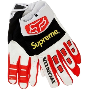 Supreme/Honda Fox Racing Gloves - Red
