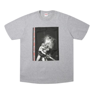 Supreme Horror Tee - Heather Grey - Used