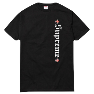 Supreme Independent Old English Tee - Black