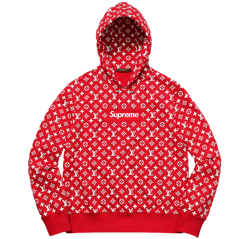 Supreme x Louis Vuitton Hooded Sweatshirt