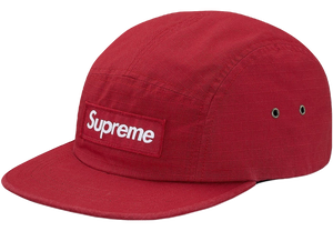 Supreme Metal D-Ring Camp Cap - Red
