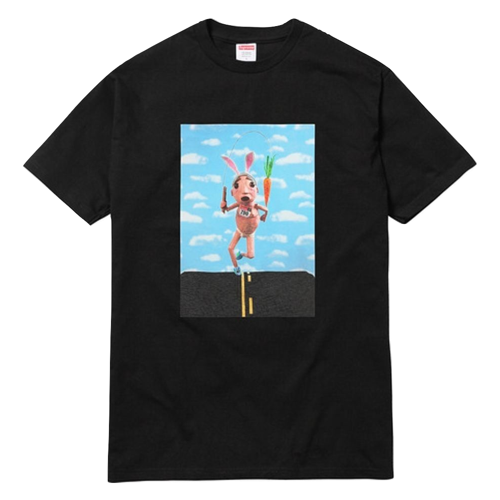 Supreme Mike Hill Runner Tee - Black - Used