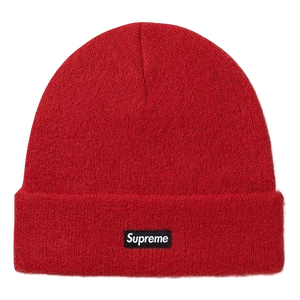 Supreme Mohair Beanie FW17 - Red - Used
