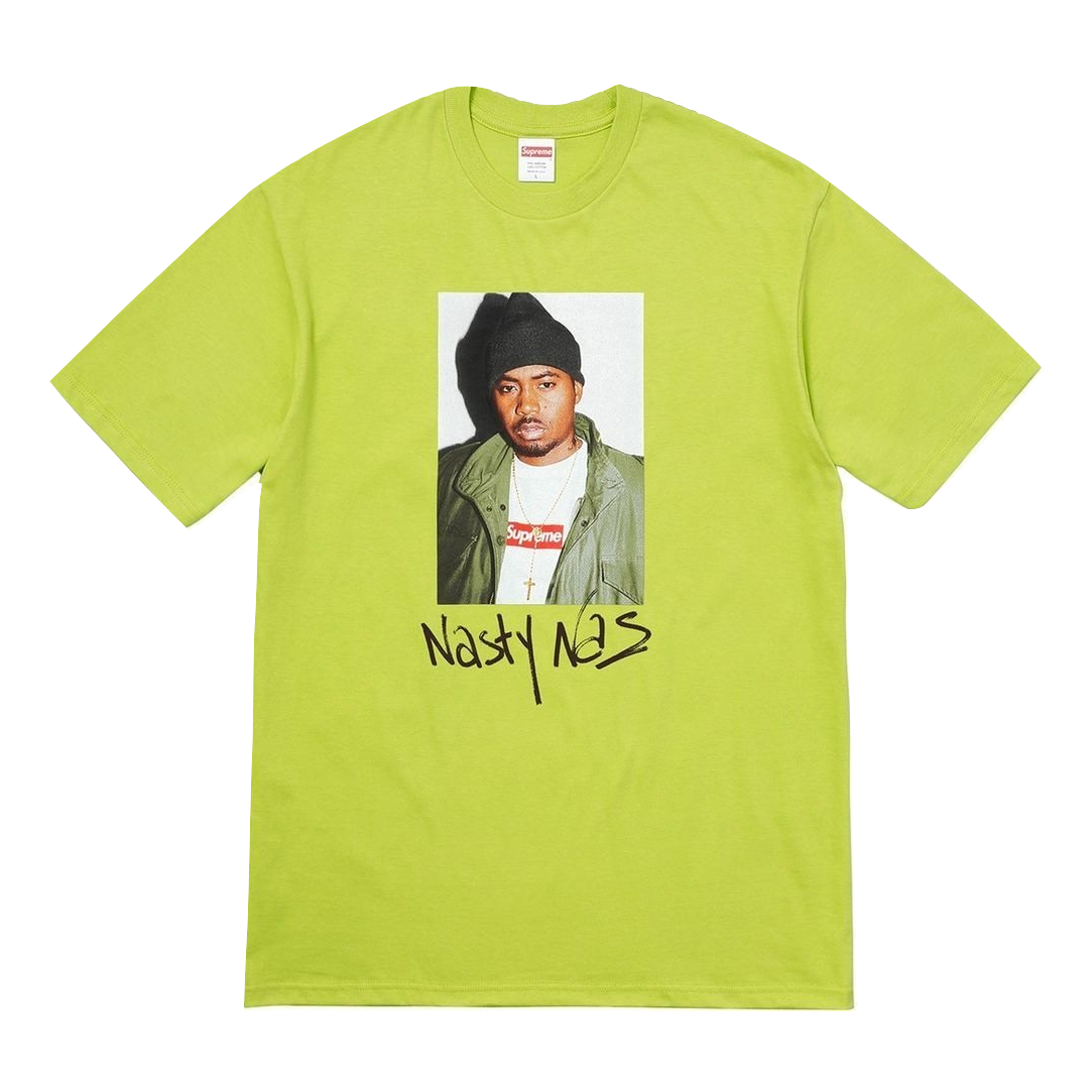 Supreme Nas Tee - Lime - Used