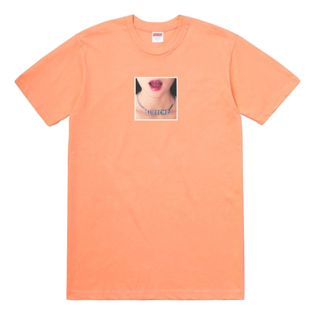 Supreme Necklace Tee - Peach