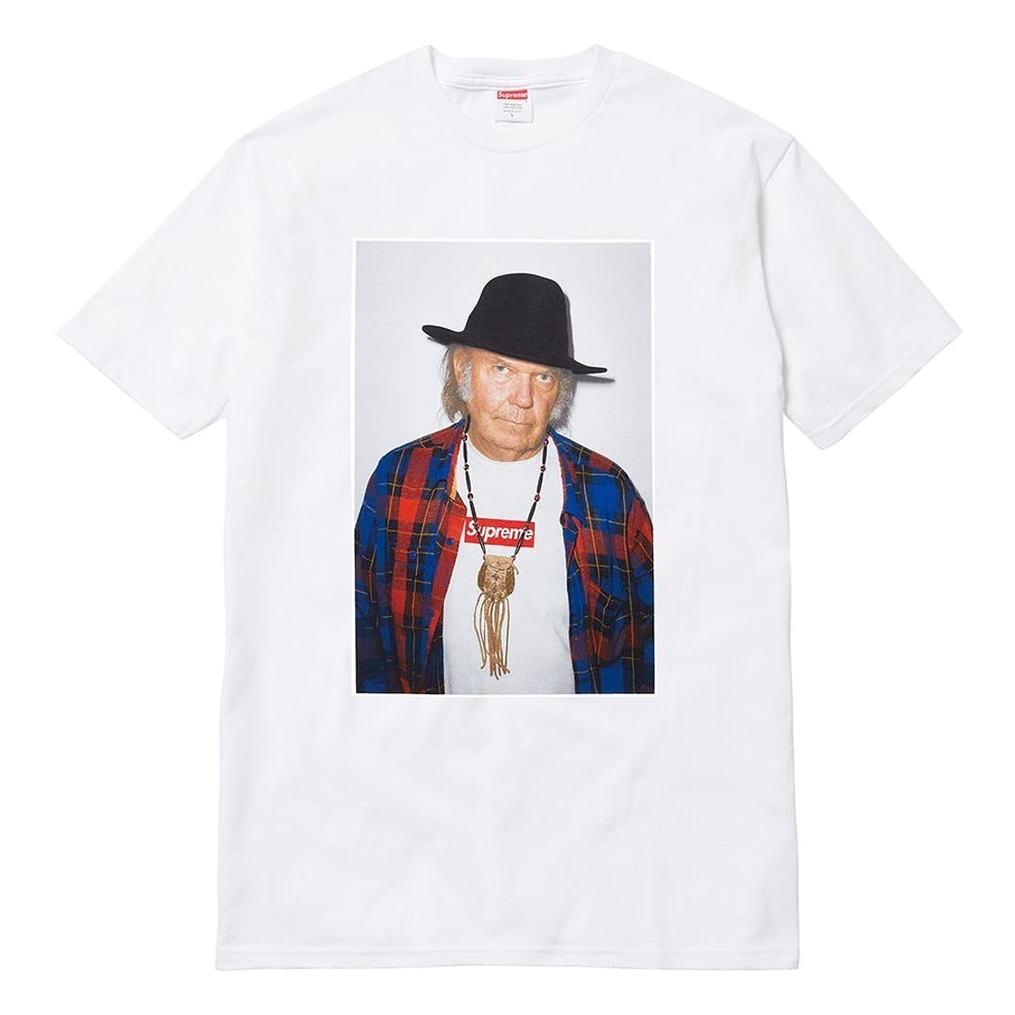 Supreme Neil Young Tee - White - Used