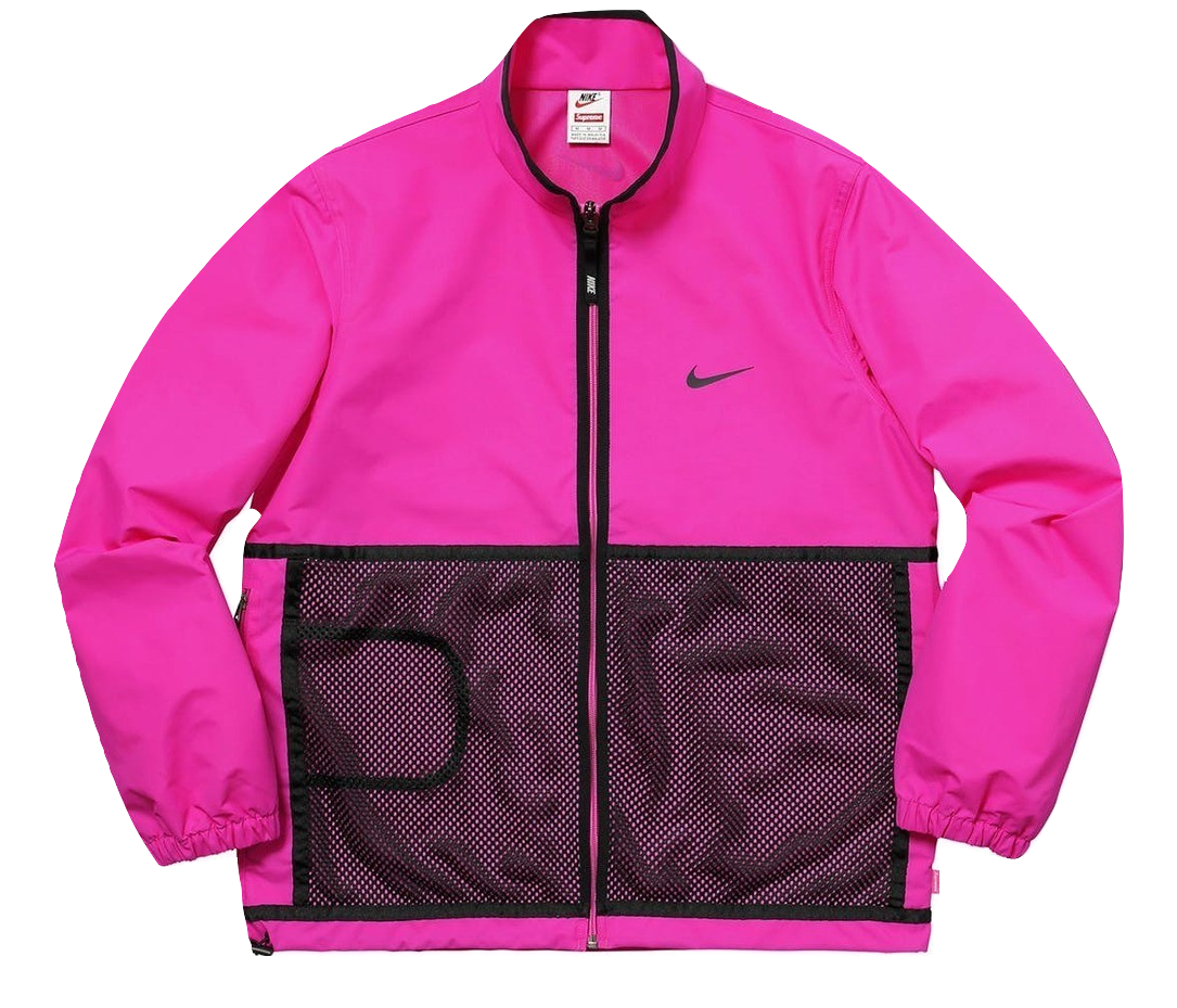Supreme x Nike Trail Running Jacket - Pink