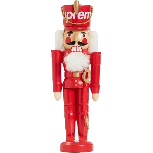 Supreme Wooden Nutcracker - Red - Used