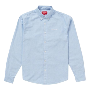 Supreme Oxford Shirt SS20 - Light Blue - Used