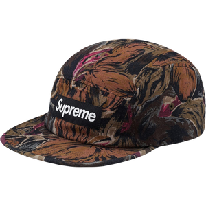 Supreme Painted Floral Camp Cap - Olive