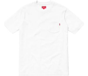 Supreme Pocket Tee SS18 - White