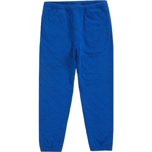Supreme Quilted Sweatpant - Royal