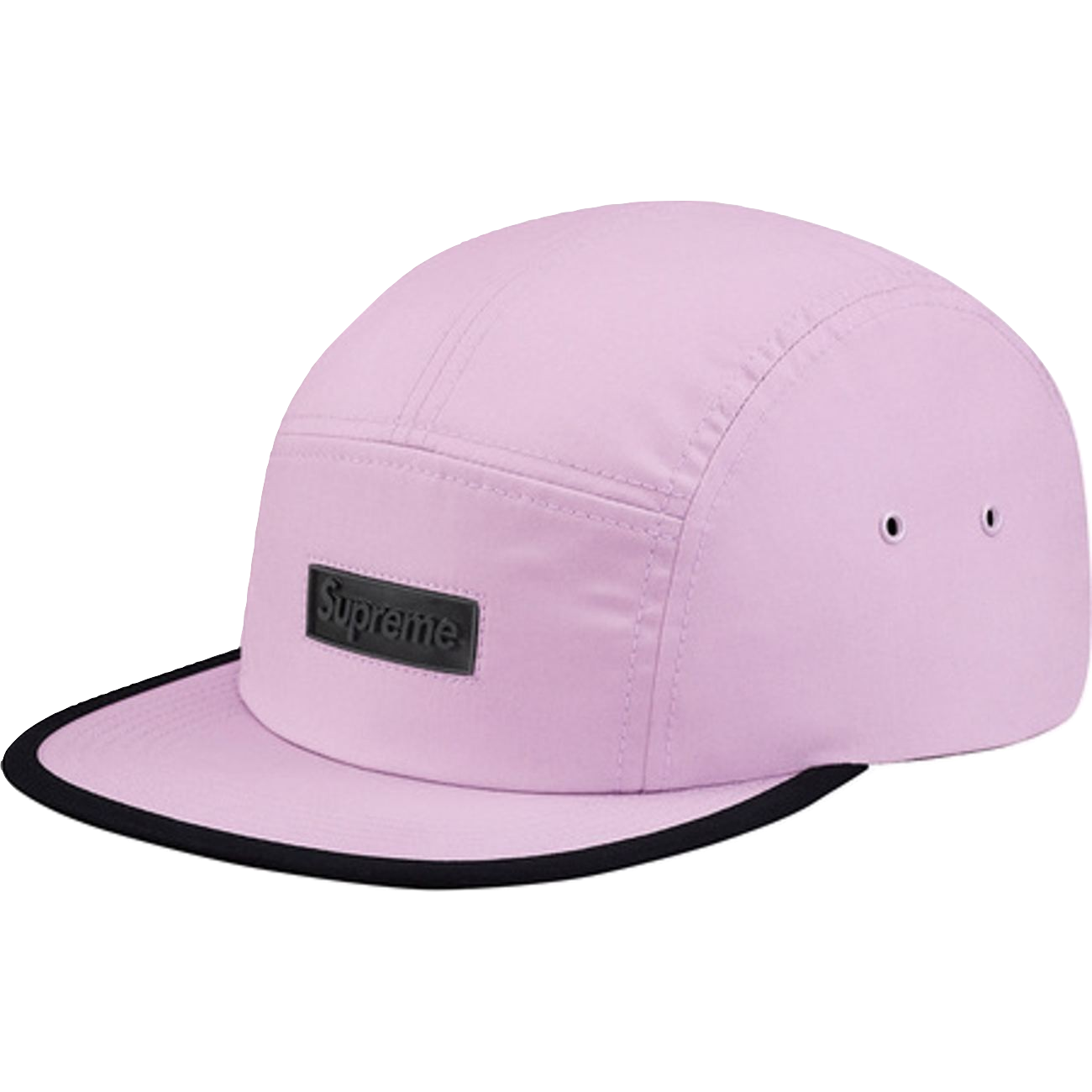 Supreme Rubber Logo Camp Cap - Lavender - Used