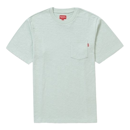 Supreme Pocket Tee SS19 - Pale Green
