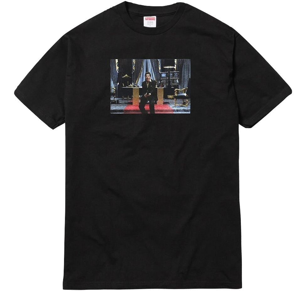 Supreme Scarface Friends Tee - Black