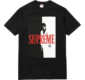 Supreme Scarface Split Tee - Black - Used