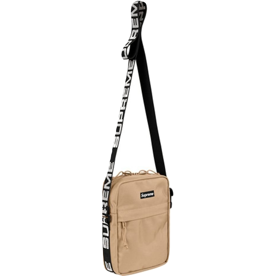 Supreme Shoulder Bag SS18 - Tan - Used