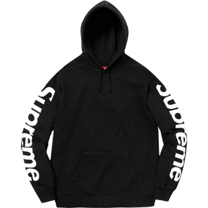 Supreme Sideline Hooded Sweatshirt - Black