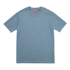Supreme Small Box Pique Tee - Slate - Used