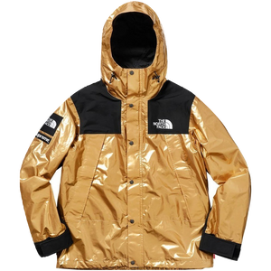 Supreme The North Face Metallic Mountain Parka - Gold