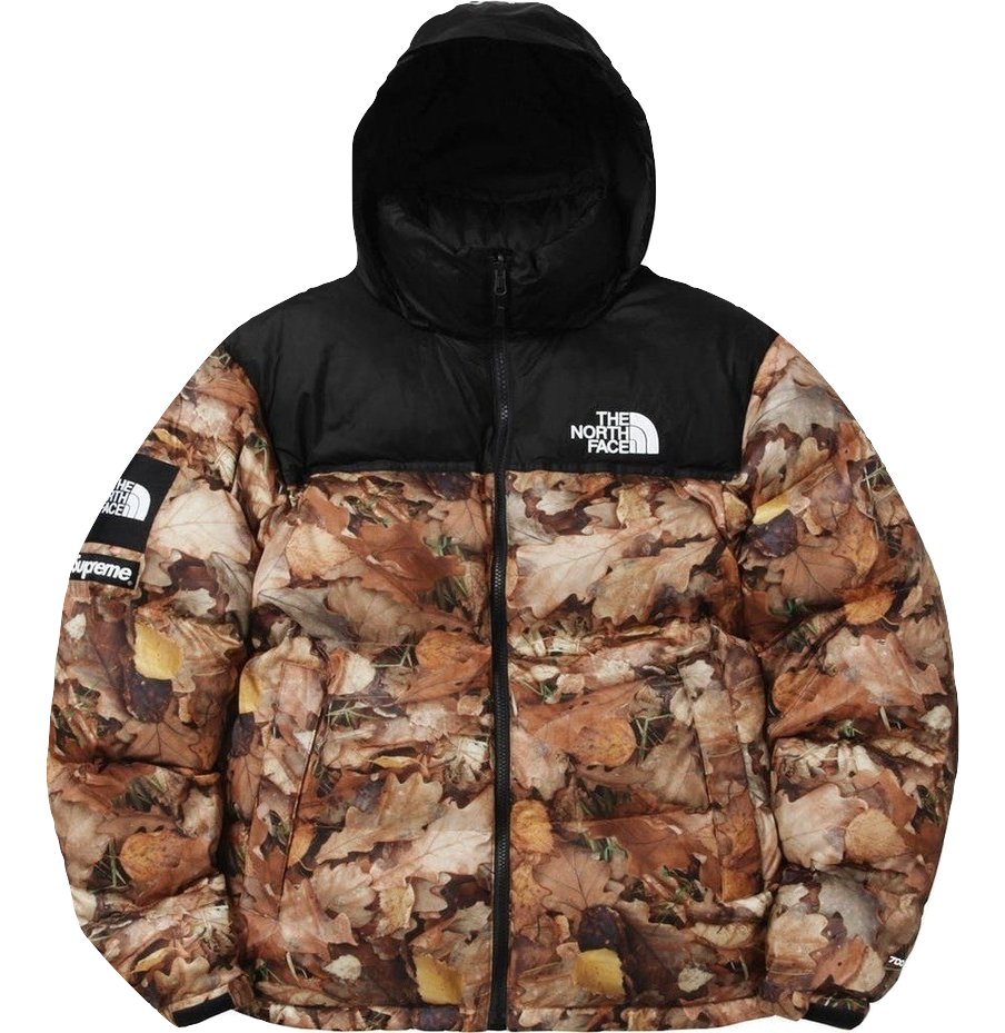 Supreme/The North Face Nuptse Leaves Jacket