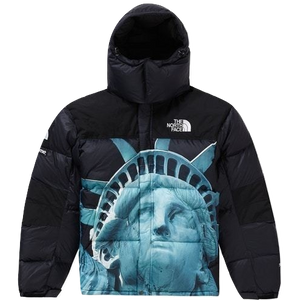 Supreme The North Face Statue of Liberty Baltoro Jacket - Black - Used
