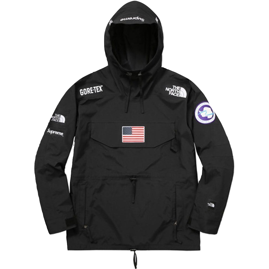 Supreme/The North Face Trans Antartica Expedition Pullover - Black
