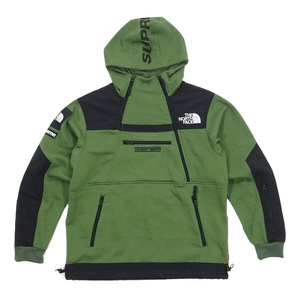 2255280bc Supreme x The North Face Steep Tech Hooded Sweatshirt - Olive