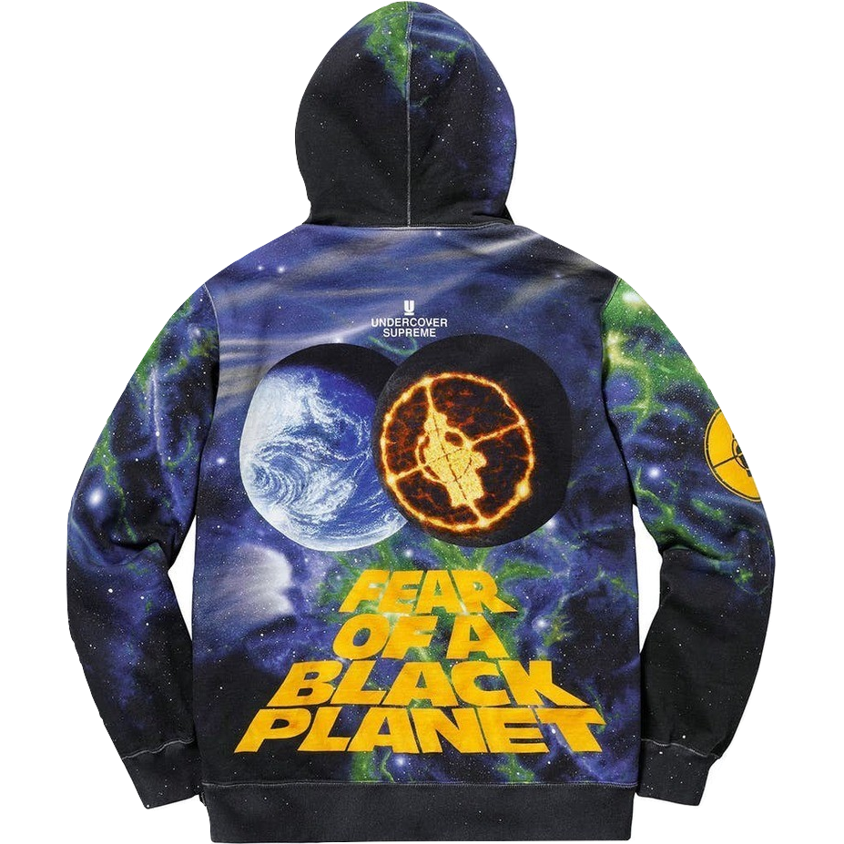 discount collection choose genuine reliable reputation Supreme Undercover/Public Enemy Fear of Black Planet Hoodie