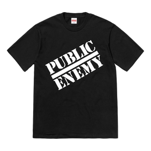 Supreme Undercover/Public Enemy Blow Your Mind Tee - Black - Used