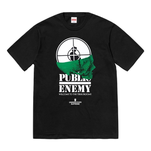 Supreme/UDC Public Enemy Terrordome Tee - Black - Used