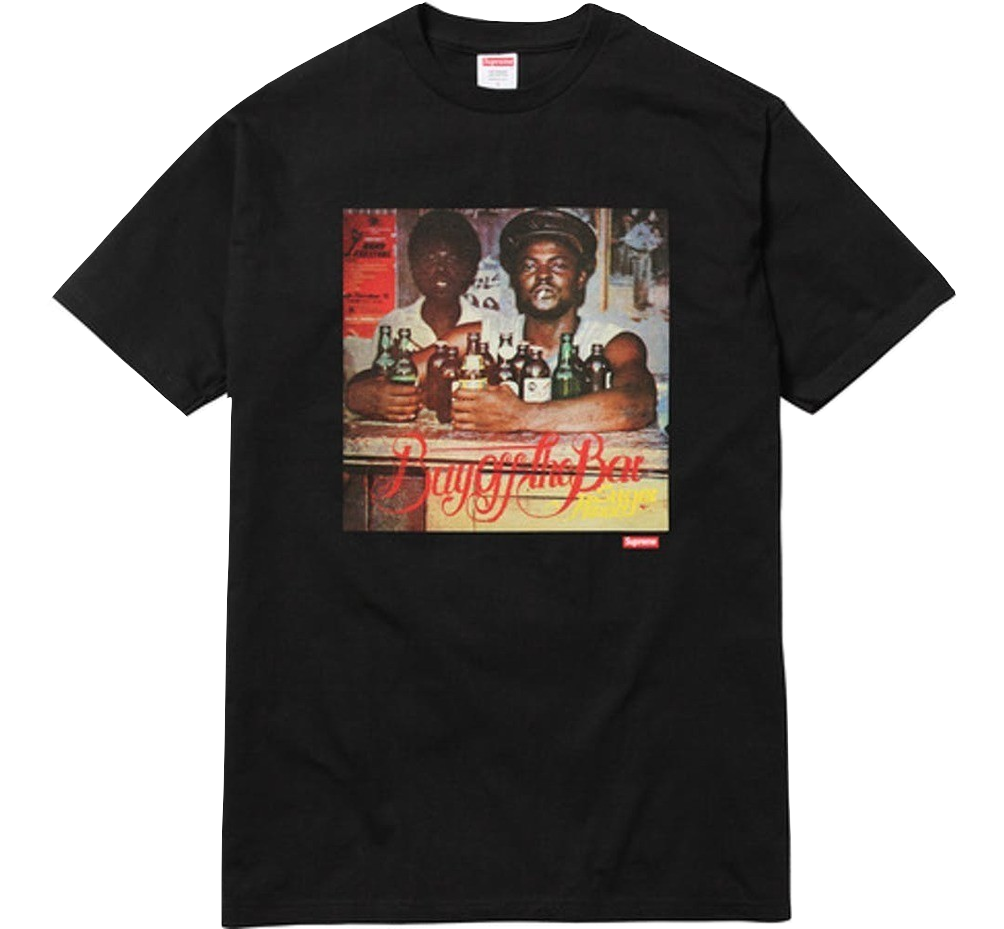 Supreme Wilfred Limonious Buy Off The Bar Tee - Black