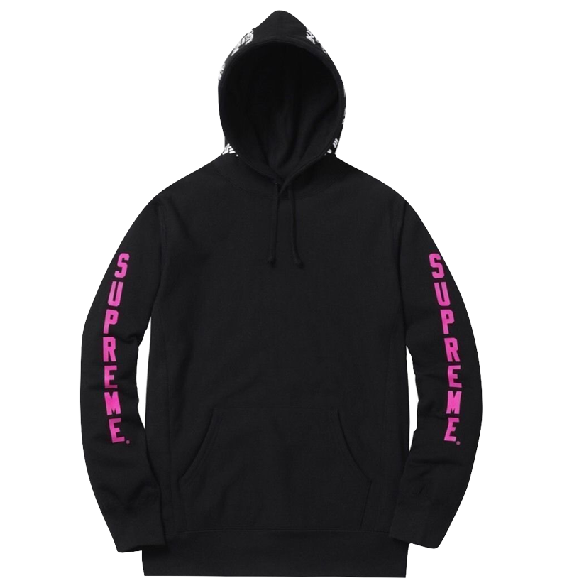 Supreme x Thrasher Hooded - Black