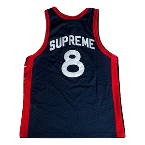 Supreme Basketball Tank - Navy