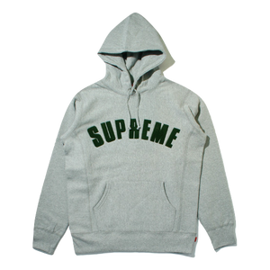 Supreme Chenille Arc Logo Hooded Sweatshirt