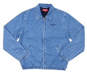 Supreme Denim Harrington Jacket