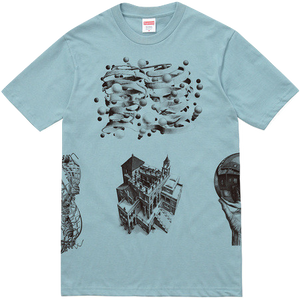 Supreme/MC Escher Collage Tee - Slate - Used