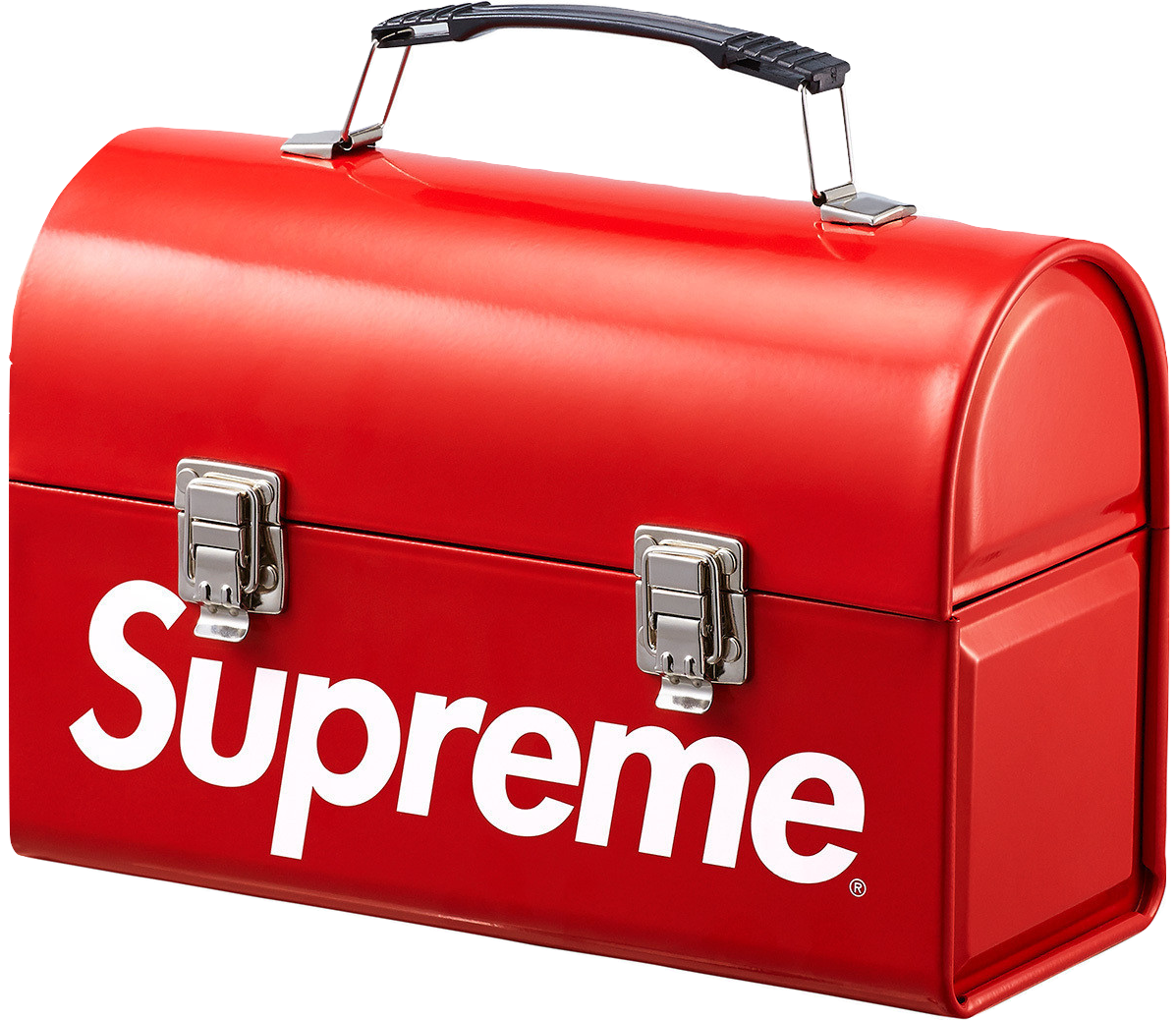 Supreme Metal Lunchbox - Red
