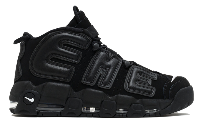Air More Uptempo - Supreme Black