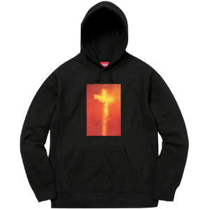 Supreme Piss Christ Hooded Sweatshirt - Black