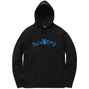 Supreme/Playboy Hooded Sweatshirt - Black