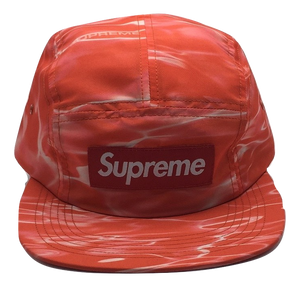 Supreme Ripple Camp Cap - Red