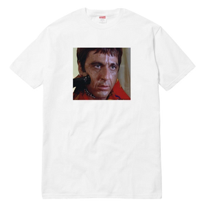 Supreme Scarface Shower Tee - White