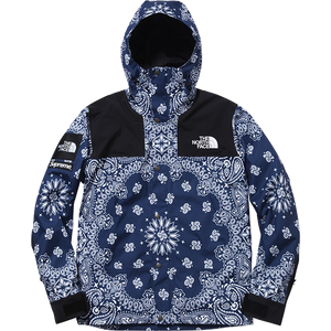 Supreme/The North Face Bandana Mountain Parka - Navy