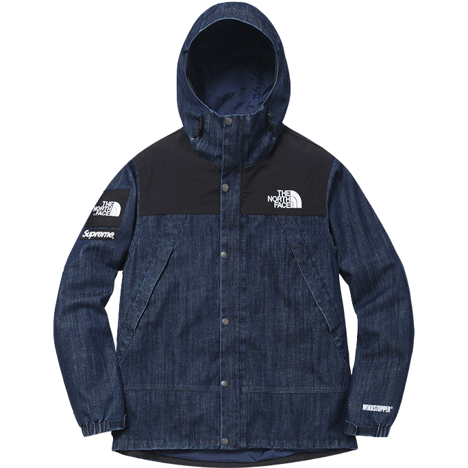 Supreme/The North Face Denim Dot Shot Jacket