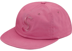 Supreme Tonal S Logo 6-Panel - Brt Rose