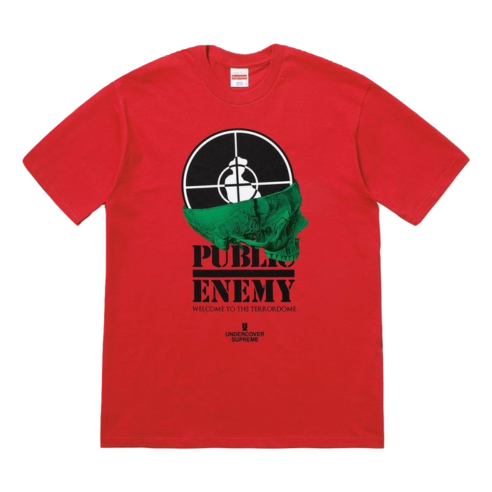 Supreme/UDC Public Enemy Terrordome Tee - Red - Used